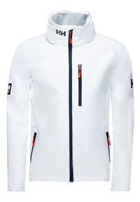 Biała kurtka przeciwdeszczowa Helly Hansen