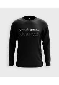 MegaKoszulki - Koszulka męska z dł. rękawem Ostatni z gatunku idealnych. Materiał: bawełna