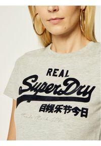 Szary t-shirt Superdry vintage