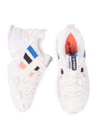 Białe buty sportowe Adidas z cholewką, Adidas Gazelle