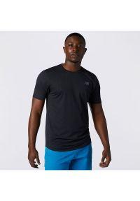 T-shirt New Balance na lato, sportowy, z krótkim rękawem
