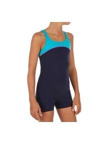 NABAIJI - Strój jednoczęściowy pływacki Taïs dla dzieci. Kolor: wielokolorowy, turkusowy, niebieski. Materiał: poliamid, materiał, poliester