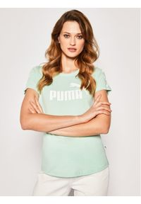 Zielony t-shirt Puma