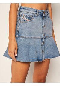 Niebieska spódnica mini Diesel