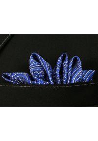 Niebieska poszetka Chattier paisley