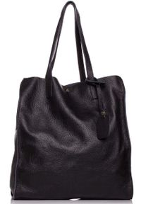 Czarna torebka MOE na ramię, elegancka
