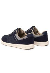 Niebieskie sneakersy Jack & Jones z cholewką