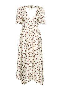 Birgitte Herskind Sukienka codzienna Lola 4012799 Beżowy Relaxed Fit. Okazja: na co dzień. Kolor: beżowy. Typ sukienki: proste. Styl: casual