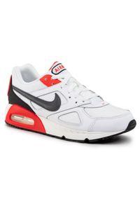 Białe półbuty Nike z cholewką, na co dzień, casualowe