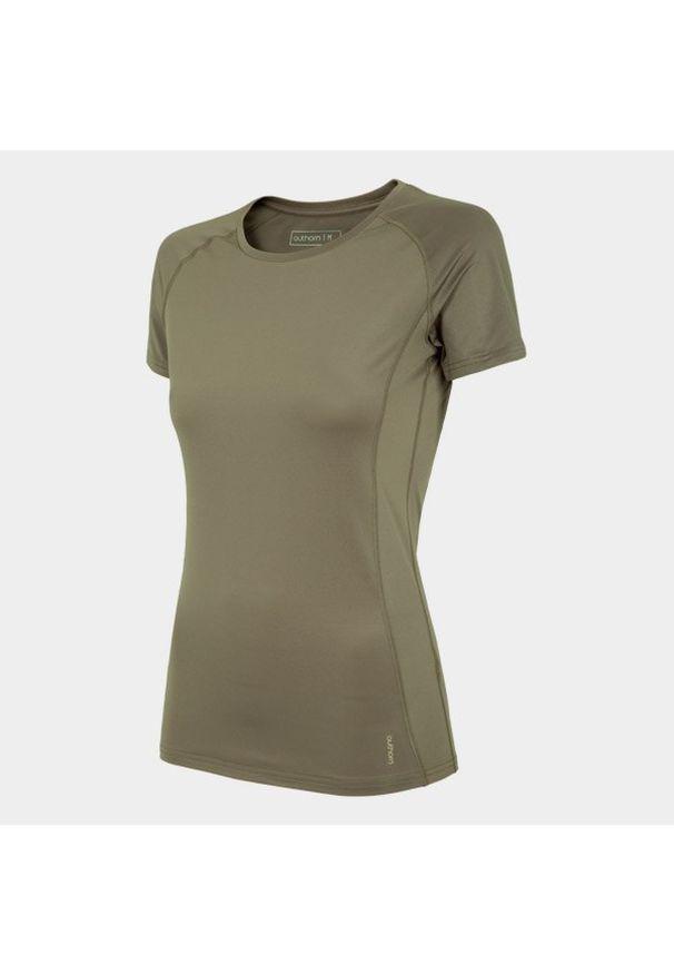 Beżowa koszulka termoaktywna outhorn