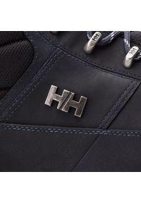 Niebieskie buty trekkingowe Helly Hansen z cholewką, trekkingowe