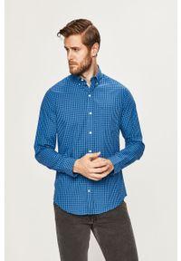 Niebieska koszula Izod casualowa, button down