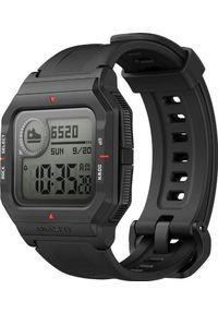 AMAZFIT - Smartwatch Amazfit Neo Czarny (W2001OV1N). Rodzaj zegarka: smartwatch. Kolor: czarny