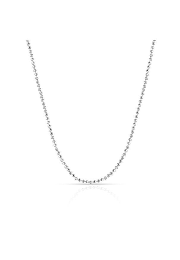 W.KRUK Łańcuszek Srebrny - srebro 925 - WWK/LS1486. Materiał: srebrne. Kolor: srebrny. Wzór: aplikacja