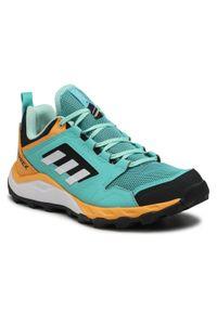 Adidas - Buty adidas - Terrex Agravic Tr W FX6982 Acimin/Ftwwht/Hazora. Zapięcie: sznurówki. Kolor: pomarańczowy, wielokolorowy, niebieski. Materiał: skóra, materiał. Szerokość cholewki: normalna. Wzór: gładki. Model: Adidas Terrex. Sport: bieganie