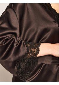 Czarny szlafrok Lauren Ralph Lauren