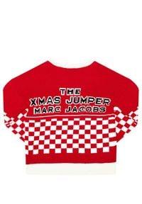 Little Marc Jacobs Sweter W15529 S Czerwony Regular Fit. Kolor: czerwony #2