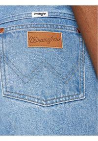 Wrangler Jeansy Wild West W2H2MC258 Niebieski Straight Fit. Kolor: niebieski