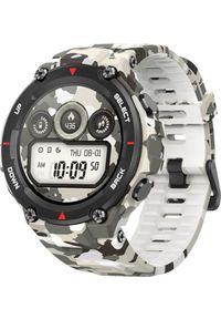 AMAZFIT - Smartwatch Amazfit T-Rex Camo Biały (W1919OV4N). Rodzaj zegarka: smartwatch. Kolor: biały