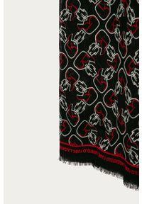 Czarna chusta Karl Lagerfeld