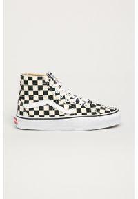 Vans - Trampki. Nosek buta: okrągły. Zapięcie: sznurówki. Kolor: czarny. Materiał: guma