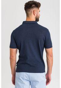 Koszulka polo JOOP! Jeans sportowa, z nadrukiem, polo