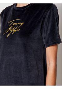 Tommy Hilfiger Koszula nocna Gold UW0UW02579 Granatowy Regular Fit