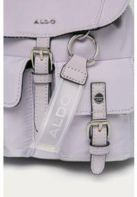 Fioletowy plecak Aldo gładki #5