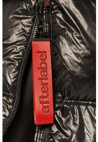 Czarna kurtka After Label casualowa, na co dzień, z kapturem #7