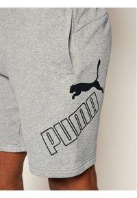 Szare spodenki sportowe Puma