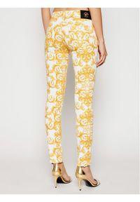 Versace Jeans Couture Jeansy A1HWA0K0 Żółty Skinny Fit. Kolor: żółty