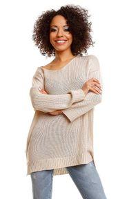 Sweter casualowy, długi