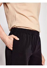 Samsoe & Samsoe - Samsøe Samsøe Spodnie materiałowe Hoys F15404308 Czarny Regular Fit. Kolor: czarny. Materiał: materiał #2