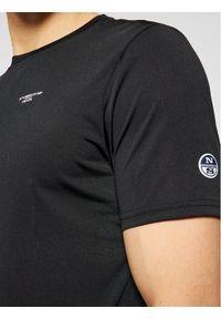 North Sails T-Shirt 452307 Czarny Regular Fit. Kolor: czarny