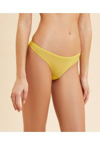 Gloss Stringi Z Tiulu - 36 - Niebiesko-Żółty - Etam. Kolor: wielokolorowy, żółty, niebieski. Materiał: tiul