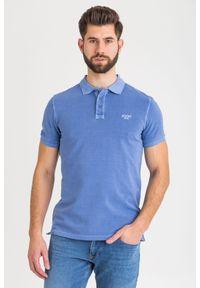 T-shirt JOOP! Jeans sportowy, polo, w kolorowe wzory