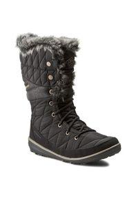 Czarne śniegowce columbia