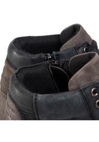 Sergio Bardi - Sneakersy SERGIO BARDI - SB-49-10-000973 601. Kolor: szary. Materiał: skóra. Szerokość cholewki: normalna