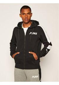 Puma Bluza Modern Sports Fz Hoodie Fl 583482 Czarny Regular Fit. Kolor: czarny