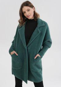 Zielony płaszcz Born2be