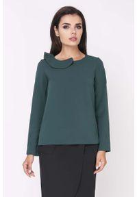 Zielona bluzka Nommo wizytowa