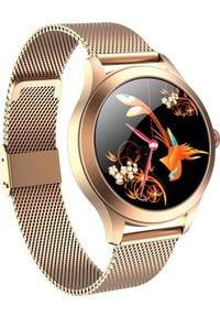 Smartwatch KingWear KW10 Pro Złoty. Rodzaj zegarka: smartwatch. Kolor: złoty