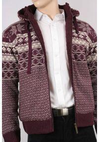 Sweter Brave Soul na jesień, z kapturem