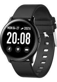 Smartwatch KingWear KW19 Czarny (KW19 black). Rodzaj zegarka: smartwatch. Kolor: czarny