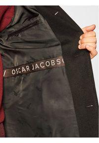 Czarny płaszcz przejściowy Oscar Jacobson