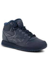Niebieskie buty sportowe Reebok Thinsulate, z cholewką