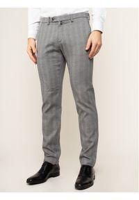 Pierre Cardin Spodnie materiałowe Lyon 33797/000/4784 Szary Modern Fit. Kolor: szary. Materiał: elastan, materiał, bawełna