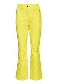 Żółte spodnie sportowe CMP narciarskie