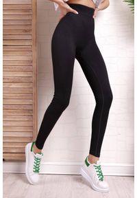 IVET - Leginsy DELIMERA BLACK. Stan: podwyższony. Kolor: czarny. Materiał: materiał