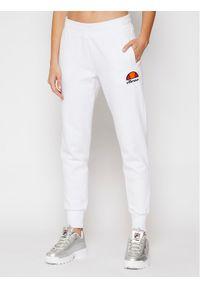 Białe spodnie dresowe Ellesse